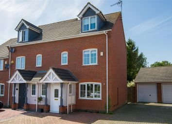 Thumbnail 4 bed town house for sale in Chapman Close, Barlestone, Nuneaton