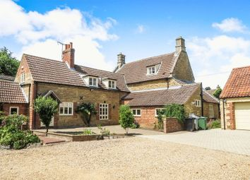 Thumbnail 5 bed detached house for sale in Hanthorpe Road, Stainfield, Bourne