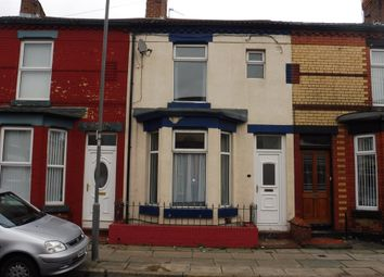 Thumbnail 3 bedroom terraced house for sale in Jamieson Road, Wavertree, Liverpool