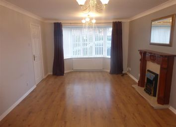 Thumbnail 4 bed detached house to rent in Merlin Way, Hartlepool