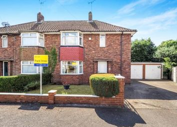 Thumbnail 3 bed semi-detached house for sale in Hammerwater Drive, Warsop, Mansfield, Nottinghamshire