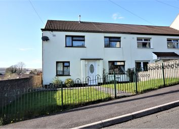 Thumbnail 3 bed end terrace house for sale in Bryn Carno, Rhymney