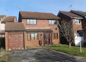Thumbnail 3 bed detached house for sale in Bosworth Road, Grange Park, Swindon