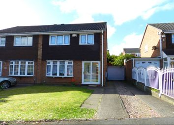 Thumbnail 3 bed semi-detached house for sale in Kingsleigh Drive, Castle Bromwich, Birmingham