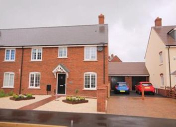 Thumbnail 4 bed semi-detached house for sale in Avocet Road, Wixams, Bedford