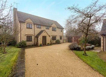 Thumbnail 4 bed detached house for sale in Orchard Close, Lechlade