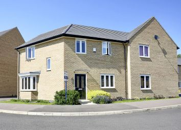 Thumbnail 3 bed semi-detached house for sale in Meadow Gardens, Huntingdon, Cambridgeshire.