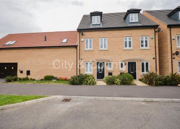 Thumbnail 3 bed terraced house for sale in Manor Drive, Gunthorpe, Peterborough