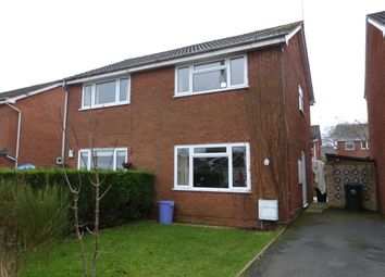 Thumbnail 2 bed semi-detached house to rent in Jacomb Drive, Lower Broadheath, Worcester