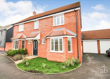 Thumbnail 4 bed detached house to rent in Hares Close, Kesgrave, Ipswich