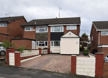 Thumbnail 3 bedroom semi-detached house for sale in Wellington Road, Stoke-On-Trent