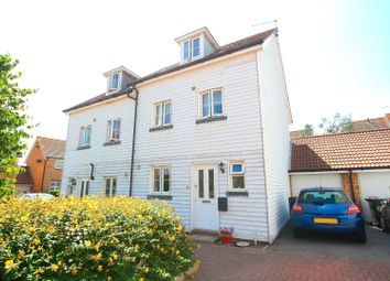 Thumbnail 4 bedroom semi-detached house for sale in Eversleigh Rise, Whitstable