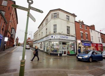 Thumbnail Retail premises for sale in Upper Floors, 35 Derby Street, Leek, Staffordshire