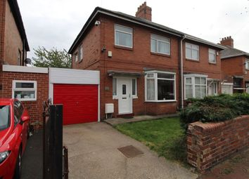 Thumbnail 3 bed semi-detached house for sale in Gowland Avenue, Newcastle Upon Tyne