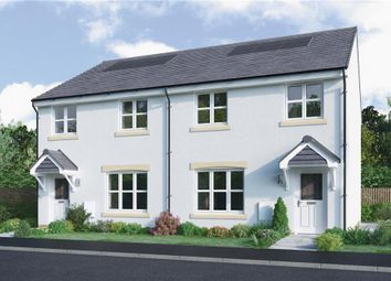 "Thumbnail 3 bed semi-detached house for sale in ""Meldrum"" at Dedridge East Industrial Estate, Abbotsford Rise, Livingston"