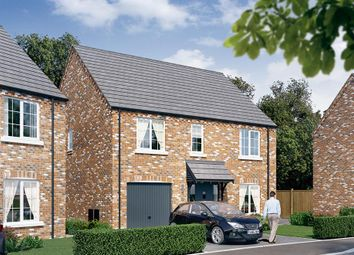 "Thumbnail 4 bed detached house for sale in ""The Rosebury"" at Dark Lane, Whatton, Nottingham"