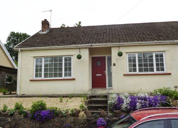 Thumbnail 2 bed semi-detached bungalow for sale in Glynfach -, Porth