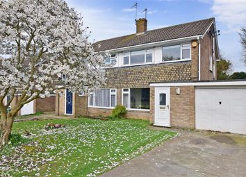 Thumbnail 3 bed semi-detached house for sale in Broadoak Avenue, Maidstone, Kent