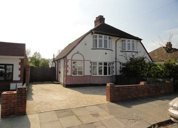 Thumbnail 4 bed semi-detached house for sale in Harewood Avenue, Northolt