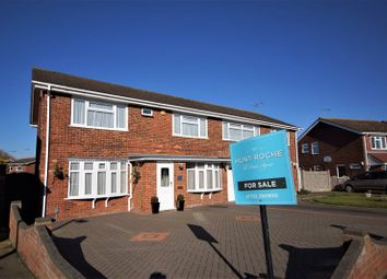 Thumbnail 4 bed semi-detached house for sale in Raphael Drive, Shoeburyness, Southend-On-Sea