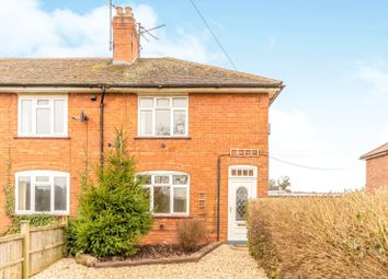 Thumbnail 3 bedroom end terrace house to rent in Bytham Road, Creeton, Grantham