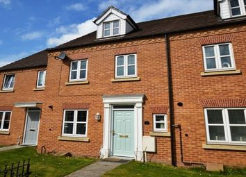 Thumbnail 4 bed town house to rent in Regent Gardens, Canal Wharf, Chesterfield