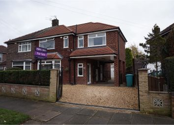 Thumbnail 3 bed semi-detached house for sale in Shawdene Road, Manchester