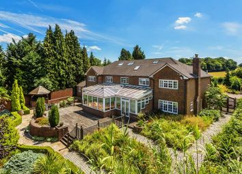 Thumbnail 6 bedroom detached house for sale in Babylon Lane, Lower Kingswood, Tadworth, Surrey