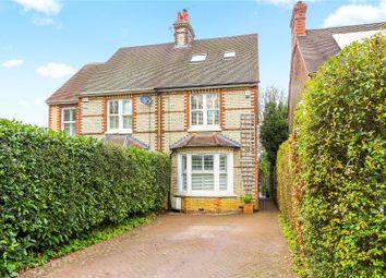 Thumbnail 4 bed semi-detached house for sale in Castle Street, Bletchingley, Surrey
