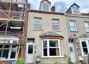 Thumbnail 4 bed terraced house for sale in South Lawn Terrace, Heavitree, Exeter