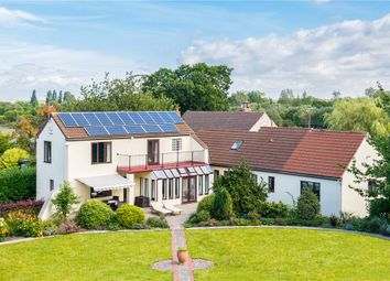 Thumbnail 4 bed detached house for sale in Longheads House, Lumby Lane, South Milford, Leeds