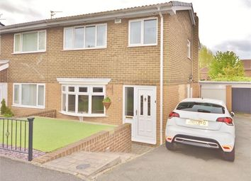 Thumbnail 3 bed semi-detached house for sale in Avebury Drive, Washington Village, Washington, Tyne And Wear.