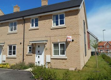 Thumbnail 3 bedroom property to rent in Buttercup Avenue, Eynesbury, St. Neots