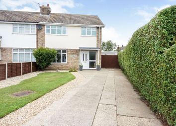 Thumbnail 3 bed semi-detached house for sale in Strubby Close, Cleethorpes