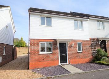 Thumbnail 2 bed semi-detached house for sale in Lavender Court, Fareham