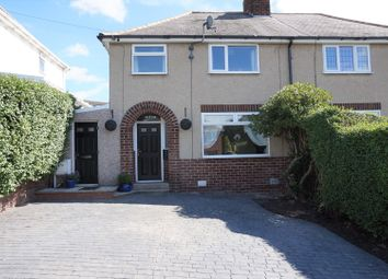 Thumbnail 3 bed semi-detached house for sale in Brearley Avenue, Chesterfield
