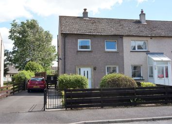 Thumbnail 3 bedroom end terrace house for sale in Langlee Drive, Galashiels