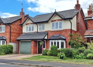 Thumbnail 4 bed detached house for sale in Kingsbury Drive, Wilmslow, Cheshire