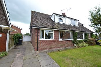 Thumbnail 3 bed semi-detached house for sale in Redruth Avenue, Macclesfield, Cheshire
