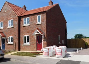 Thumbnail 2 bed semi-detached house for sale in Oxford Way, Wainfleet All Saints, Skegness