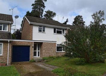 Thumbnail 3 bed link-detached house to rent in Dalston Close, Camberley, Surrey