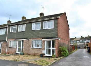 Thumbnail 3 bed end terrace house for sale in Berwick Close, Taunton, Somerset