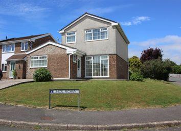Thumbnail 3 bed detached house for sale in Heol Fechan, Cefn Glas, Bridgend