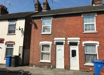 Thumbnail 2 bed terraced house to rent in Surrey Road, Ipswich