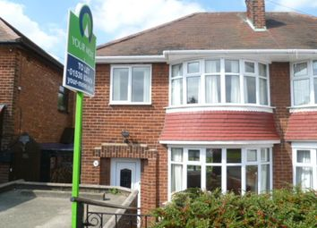Thumbnail 3 bedroom semi-detached house to rent in Wentworth Road, Coalville