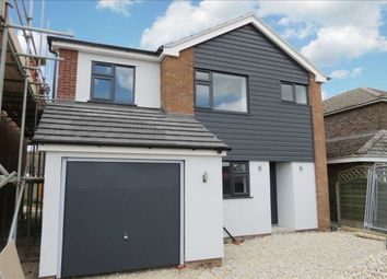 Thumbnail 4 bed detached house for sale in Russell Road, Leasingham, Sleaford