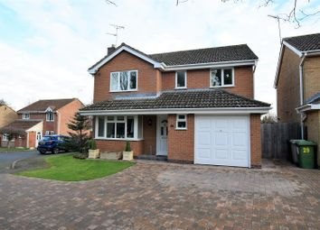 Thumbnail 4 bed detached house for sale in Bullfinch Close, Oakham