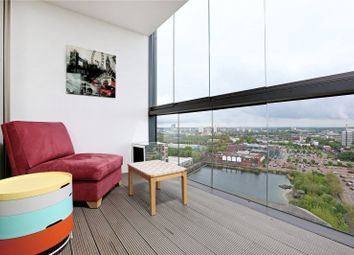 Thumbnail 2 bed flat for sale in Ontario Point, 28 Surrey Quays Road, London