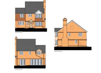 Thumbnail 4 bed semi-detached house for sale in Holmes Field, Main Road, Bentley, Farnham