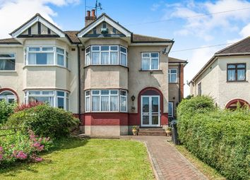 Thumbnail 5 bed semi-detached house for sale in Wye Road, Gravesend